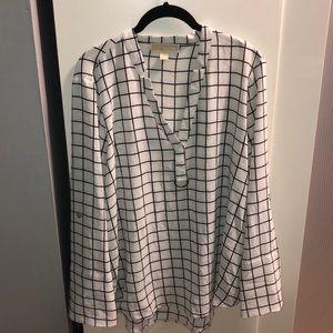 Checkered MK Top